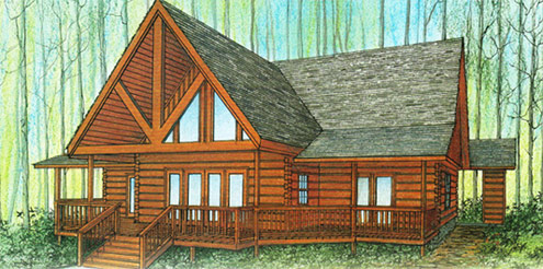 Custom Log Homes & Cabins | Boise, Donnelly, Sun Valley, ID